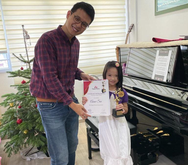 Meet Anav, Best Presentation Award of The Happy Pianist Festival 2020