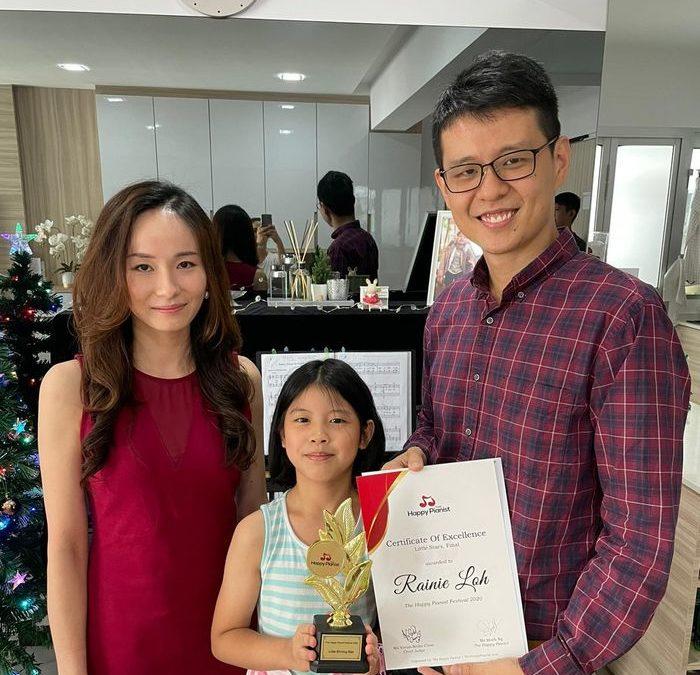 Meet Rainie Loh, Little Shining Star of The Happy Pianist Festival 2020